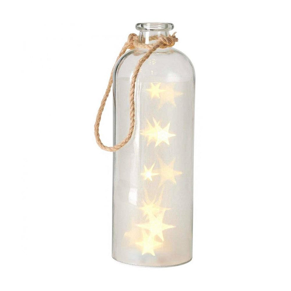 Giant Stars in Glass Light Bottle
