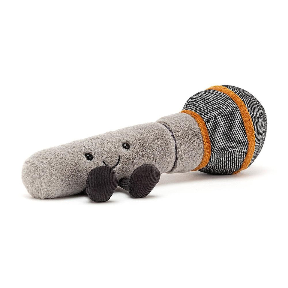 Amuseable Microphone Soft Toy