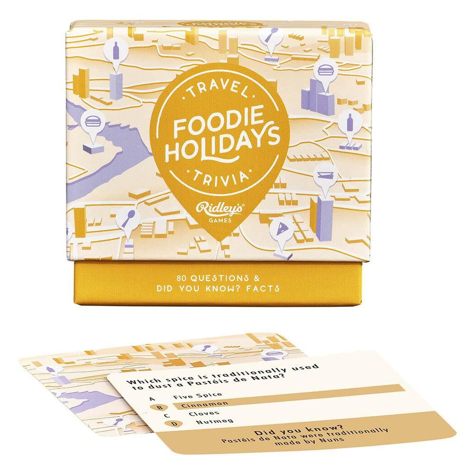 Foodie Holiday Trivia