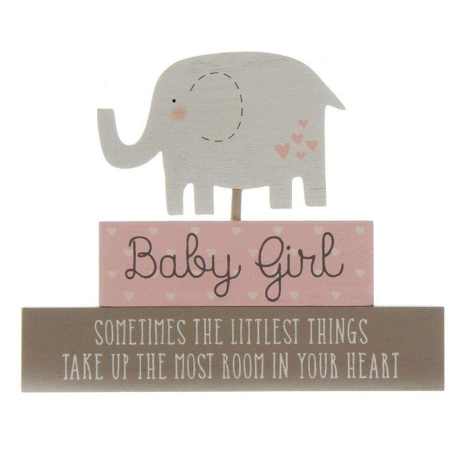 Baby Girl Petit Cheri Stacked Blocks