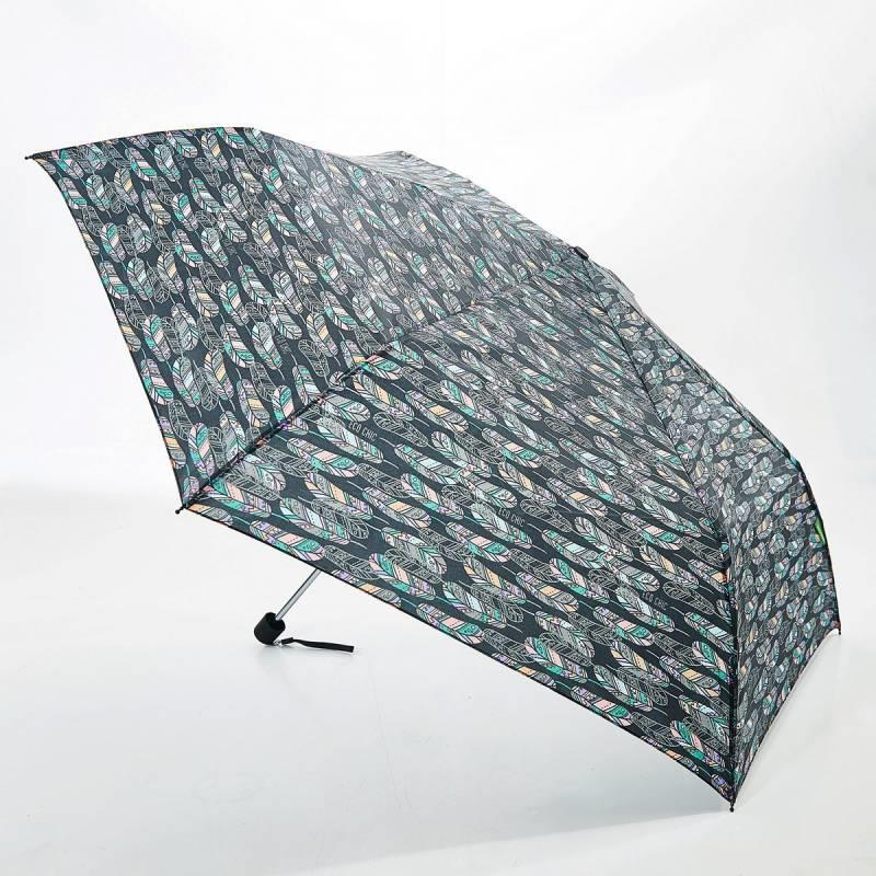 Black Feather Mini Umbrella