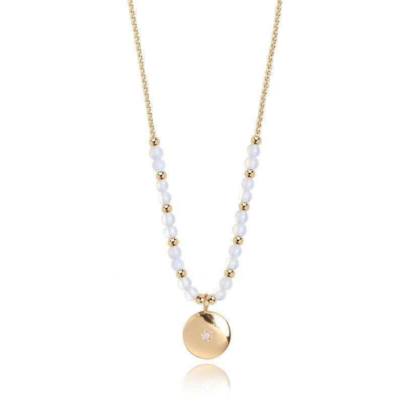 Yellow Gold Shine Necklace | Signature Stones