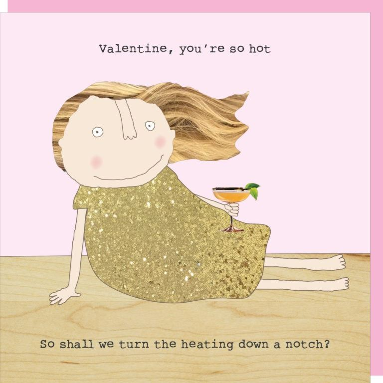 You're So Hot Valentine's Card