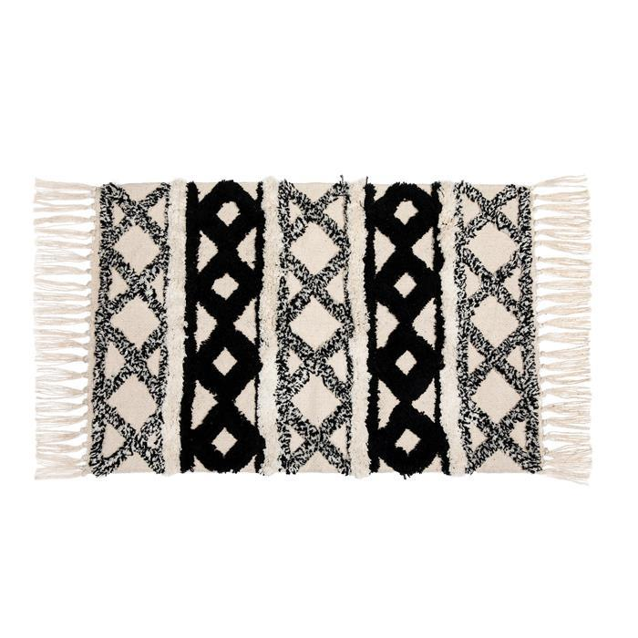Scandi Boho Rug with Tassels