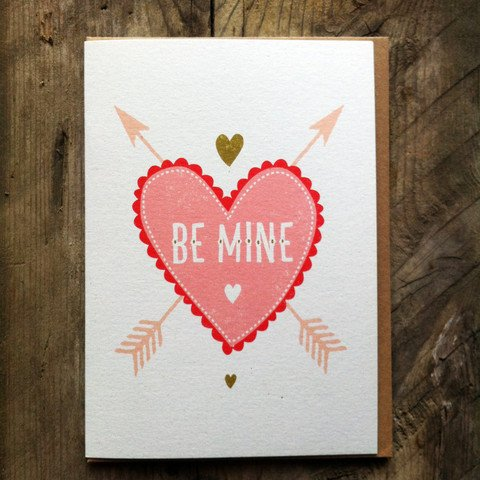 Be Mine Card