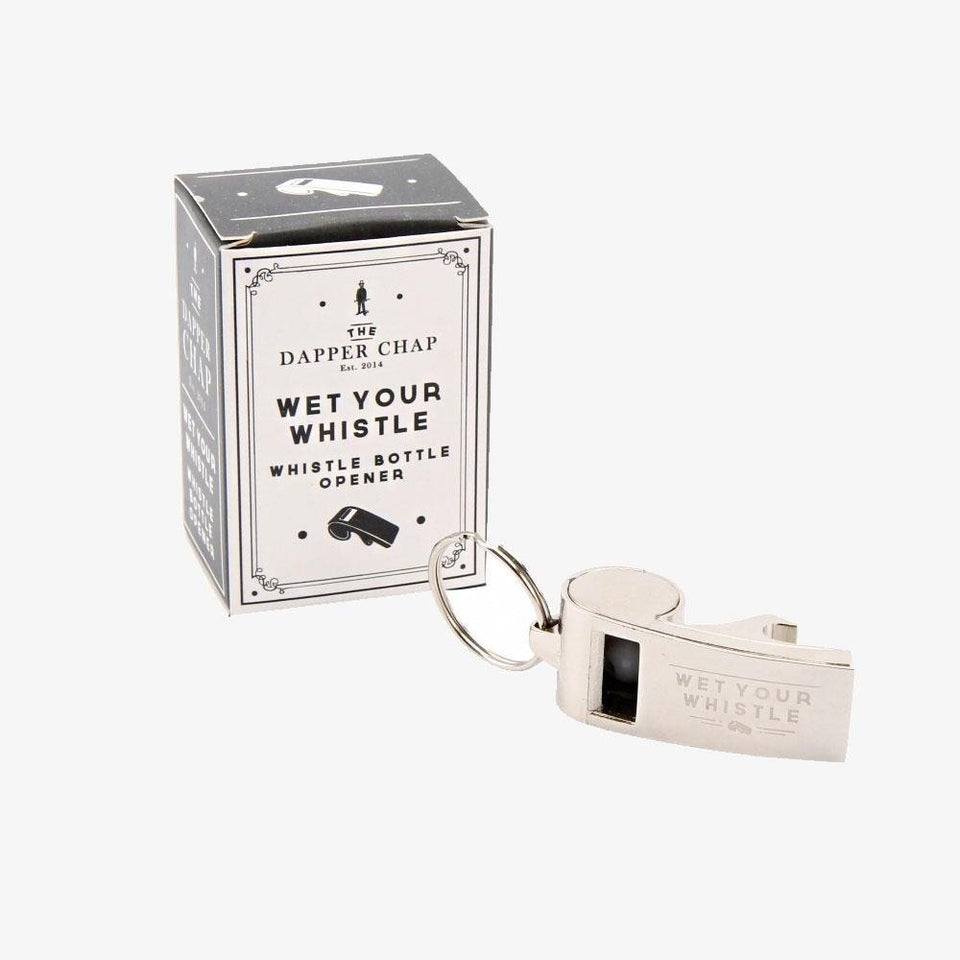 Dapper Chap Bottle Opener Whistle