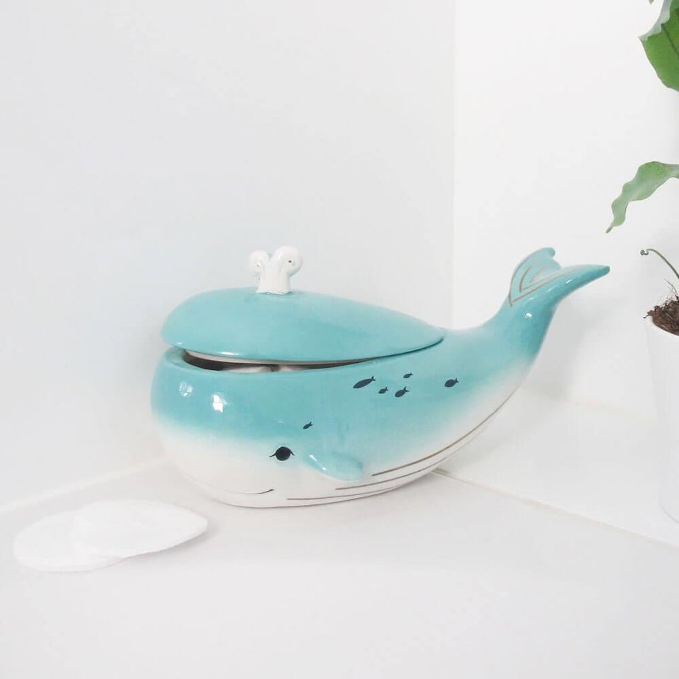 By The Sea Whale Jar With Gift Box