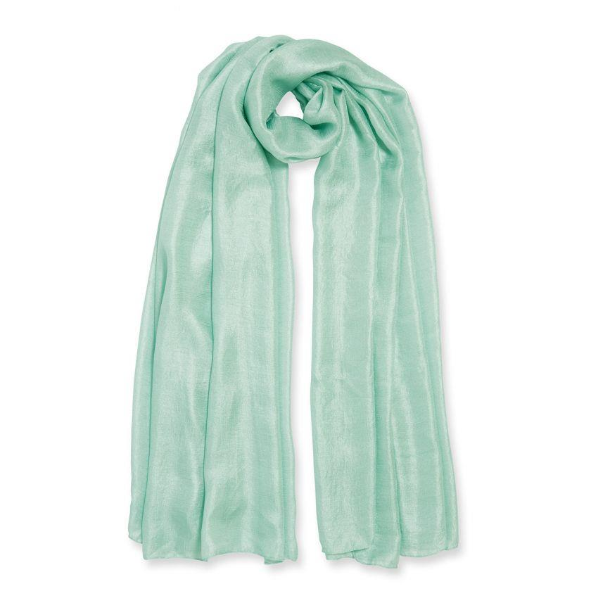 Wrapped Up In Love Soft Mint Green Scarf in Gift Box