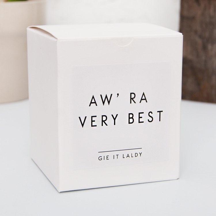 Aw Ra' Best Jar Candle | Lisa Donati Collection