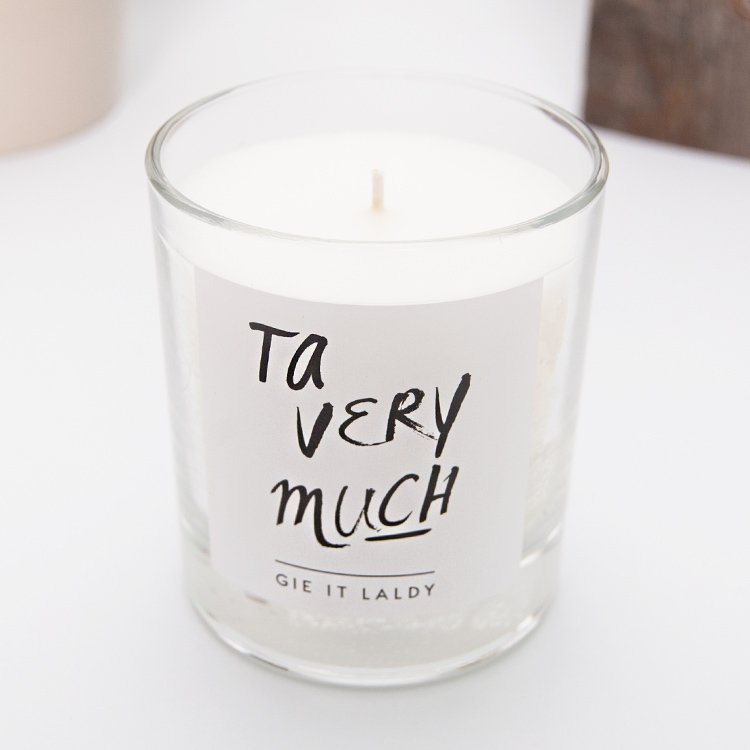 Ta Very Much Jar Candle | Lisa Donati Collection