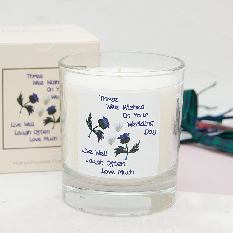 3 Wee Wishes Jar Candle