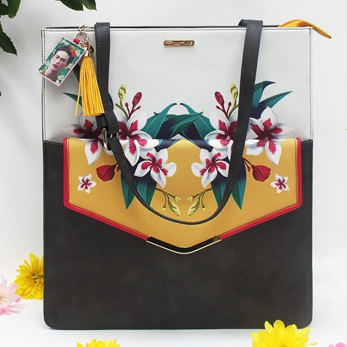 Frida Kahlo Tote Bag With Clutch