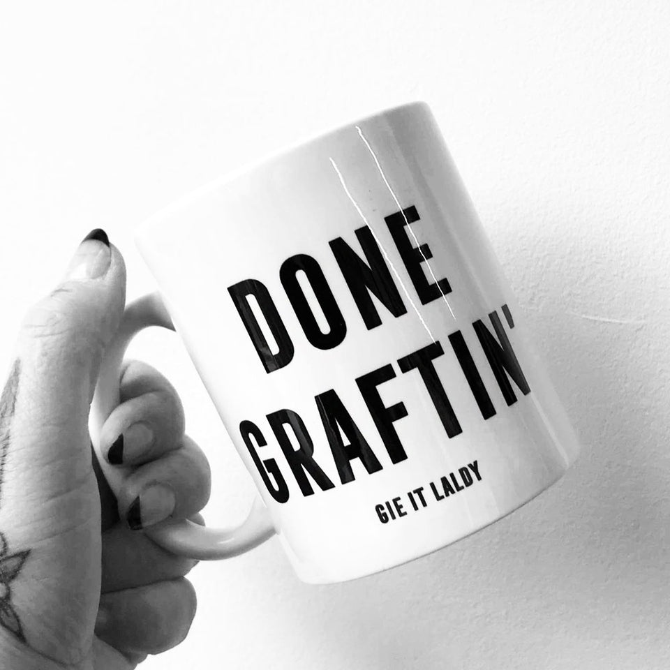 Done Graftin' Mug