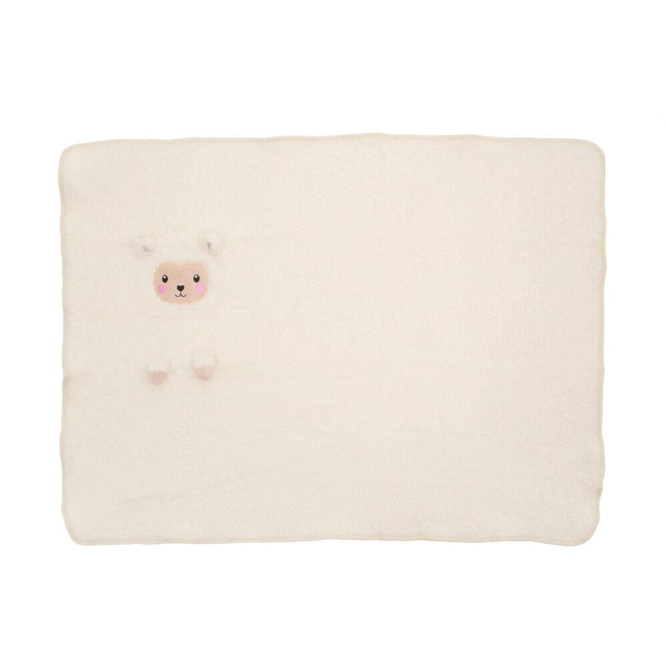 Little Llama Soft Fleece Baby Blanket