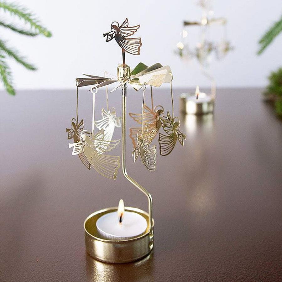 Angel Tea Light Rotary