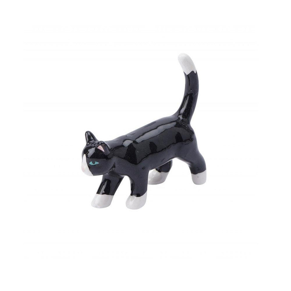 Bella the Black Cat Ring Holder
