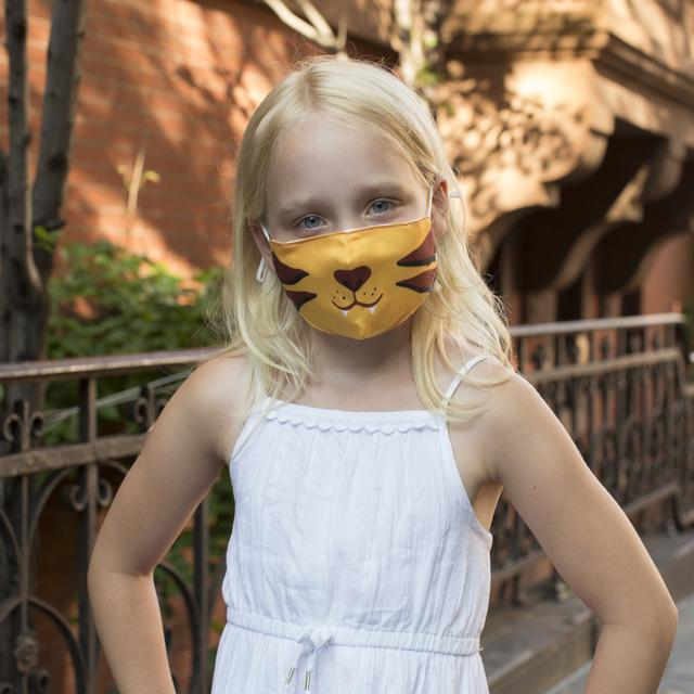 Tiger Kids Mask