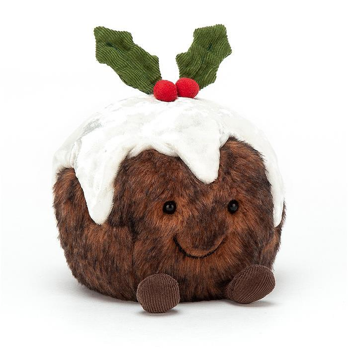 Amuseable Christmas Pudding Soft Toy