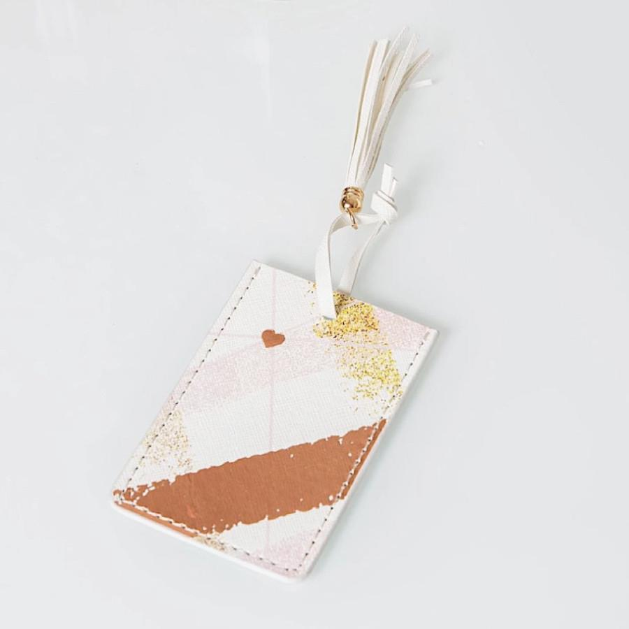 Estella Rose Gold Boxed Luggage Tag