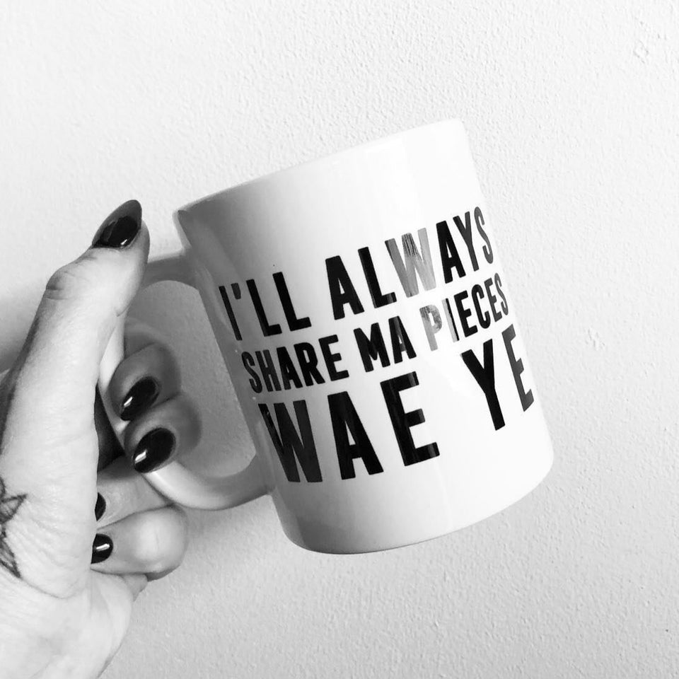 I'll Always Share My Pieces Mug