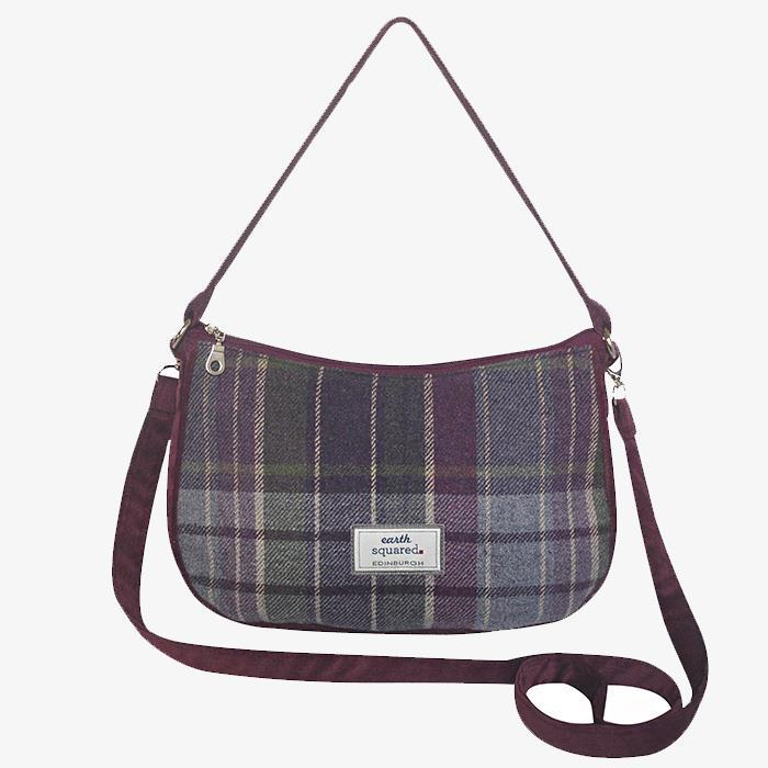 Purple Quartz Meghan Cross Body Bag