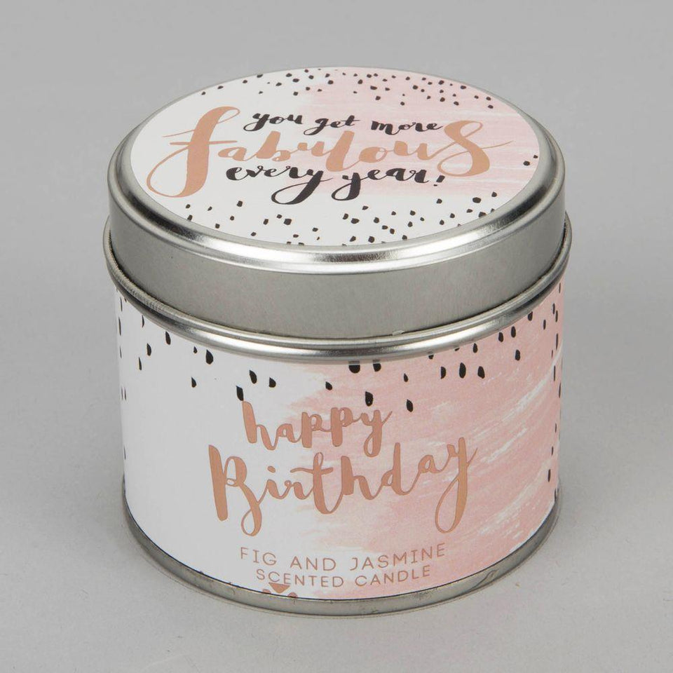 Fabulous Luxe Candle in a Tin