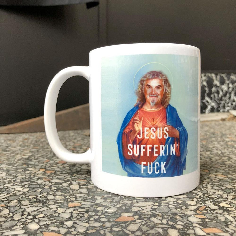 Billy Connolly Jesus Ceramic Mug