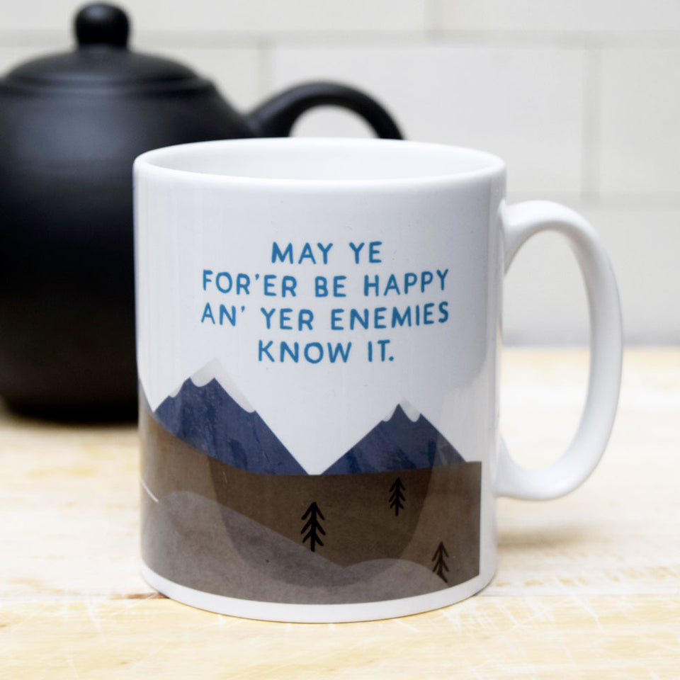 Enemies Know It Ceramic Mug