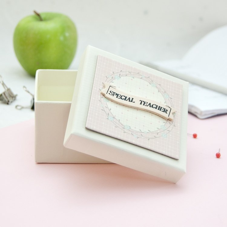 Special Teacher Keepsake Box