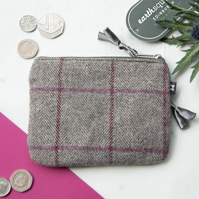 Grey Heritage Tweed Emily Purse