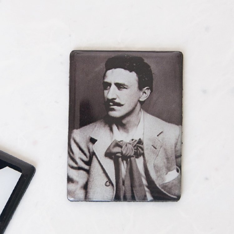 Rennie Mackintosh Photo Square Magnet