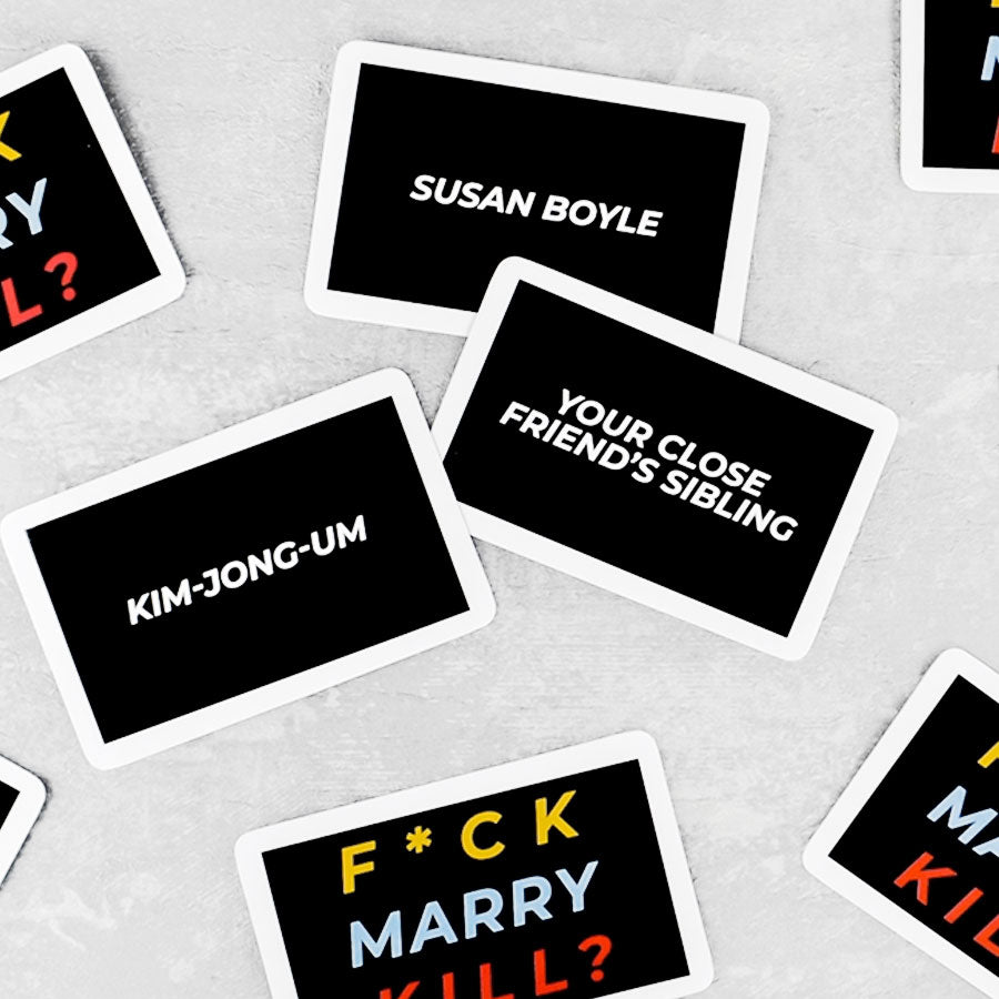 F*ck, Marry, Kill Trivia Card Game