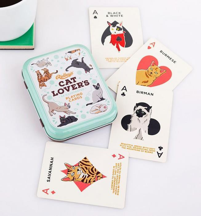 Cat Lover's Playing Cards