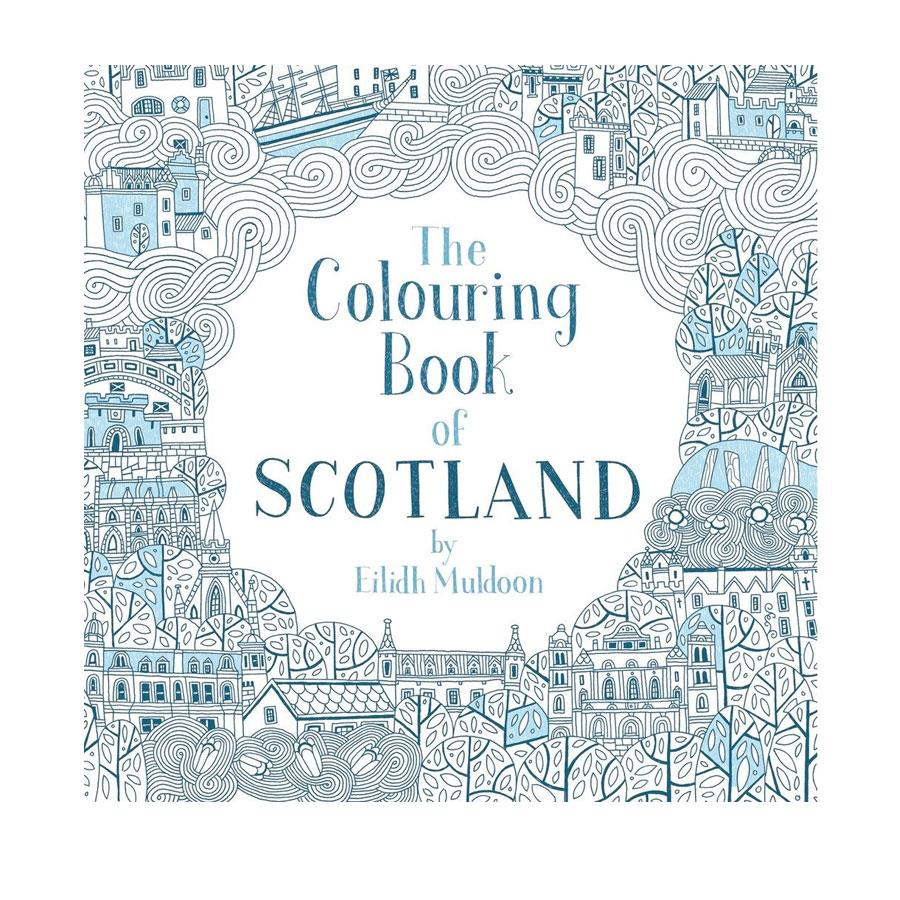 Colouring Book of Scotland