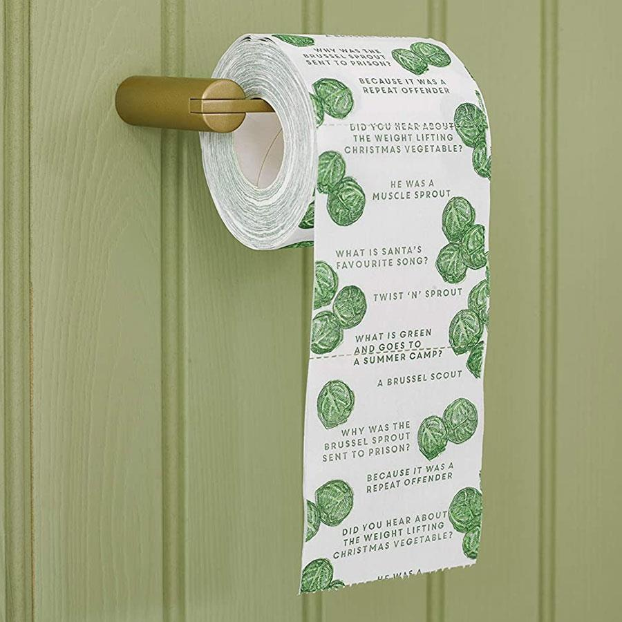 Botanical Sprout Toilet Paper Roll