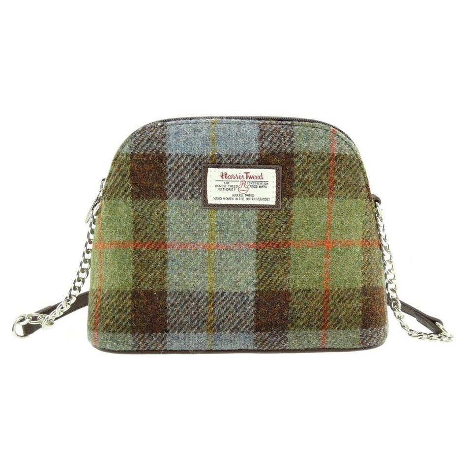 Harris Tweed MacLeod Tartan Mini Shoulder Bag