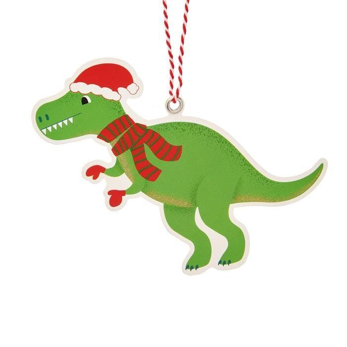 Christmas Roarsome Dinosaur Gift Tags | Set of 6