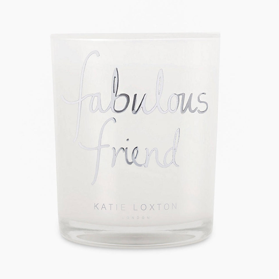 Fabulous Friend Metallic Candle