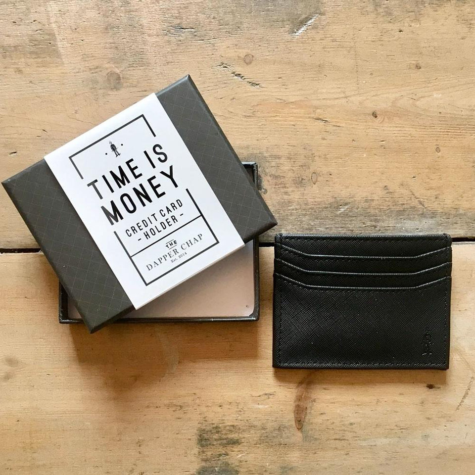 Dapper Chap Card Holder
