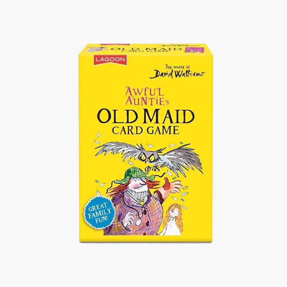 Awful Auntie's Old Maid  David Walliams Card Game