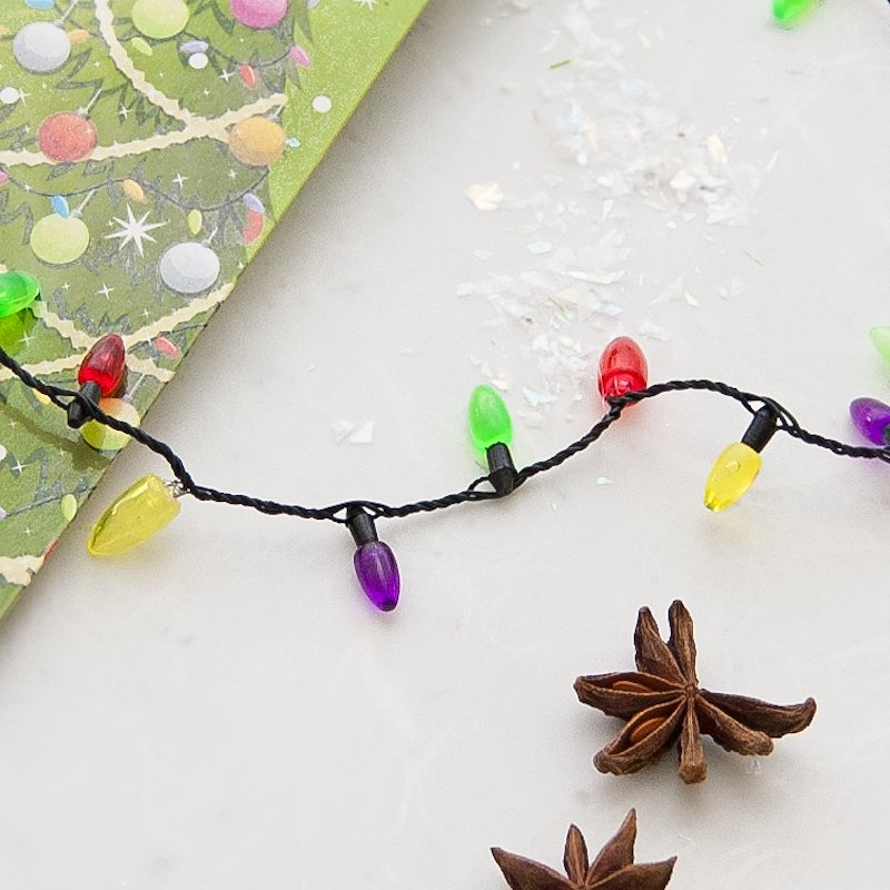Flashing Christmas Necklace
