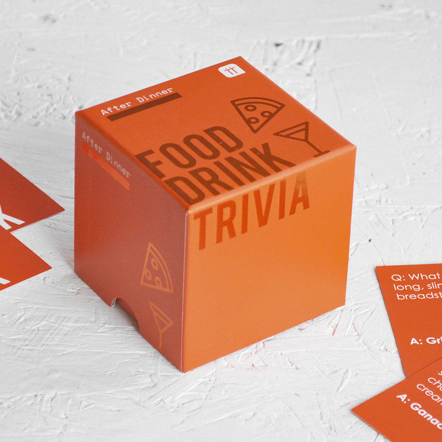 After Dinner Food & Drink Trivia