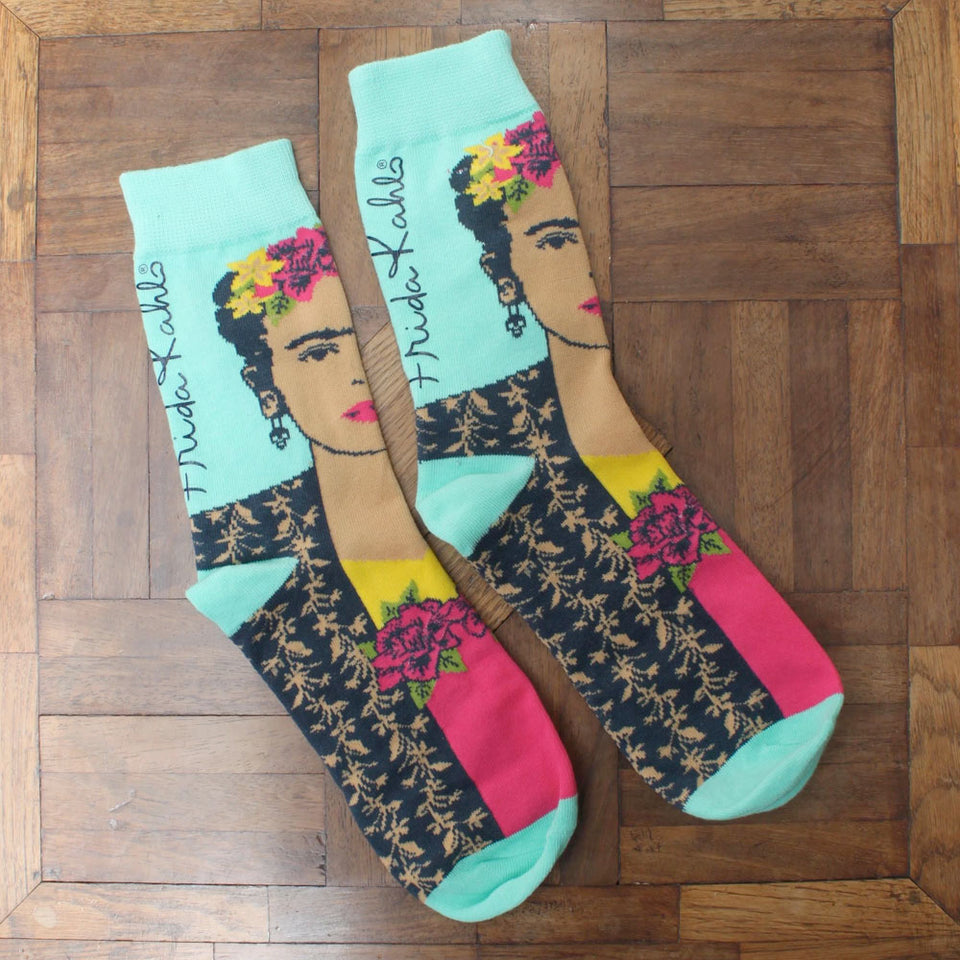 Frida Kahlo Printed Socks