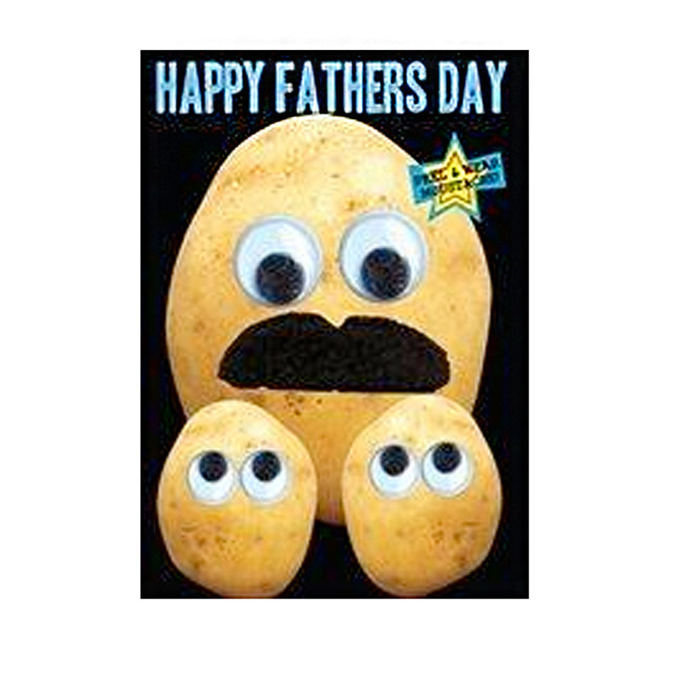 FuzzFace Happy Father's Day Card