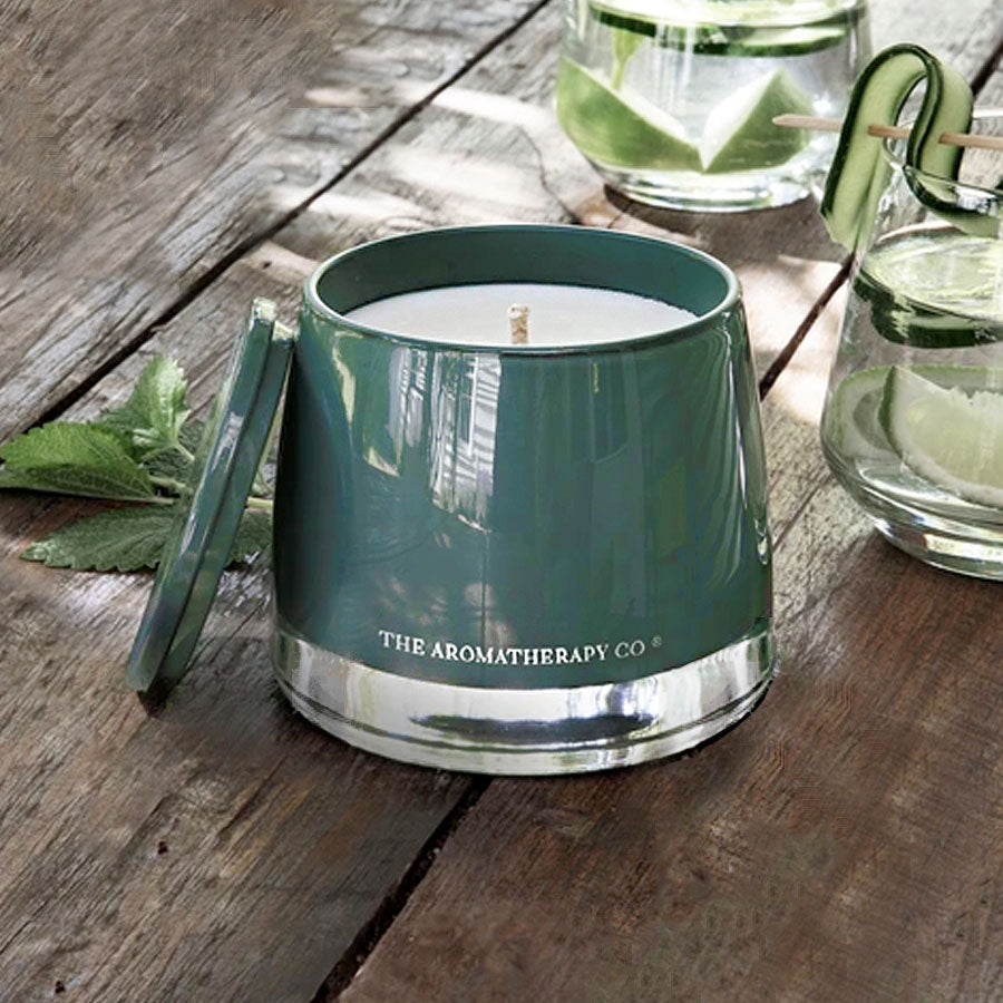 Therapy Garden Wild Mint & Lime Candle