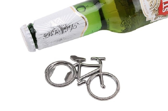 Bike Shaped Bottle Opener