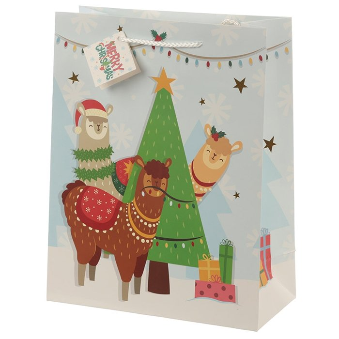 Festive Friends Animals Large Gift Bag