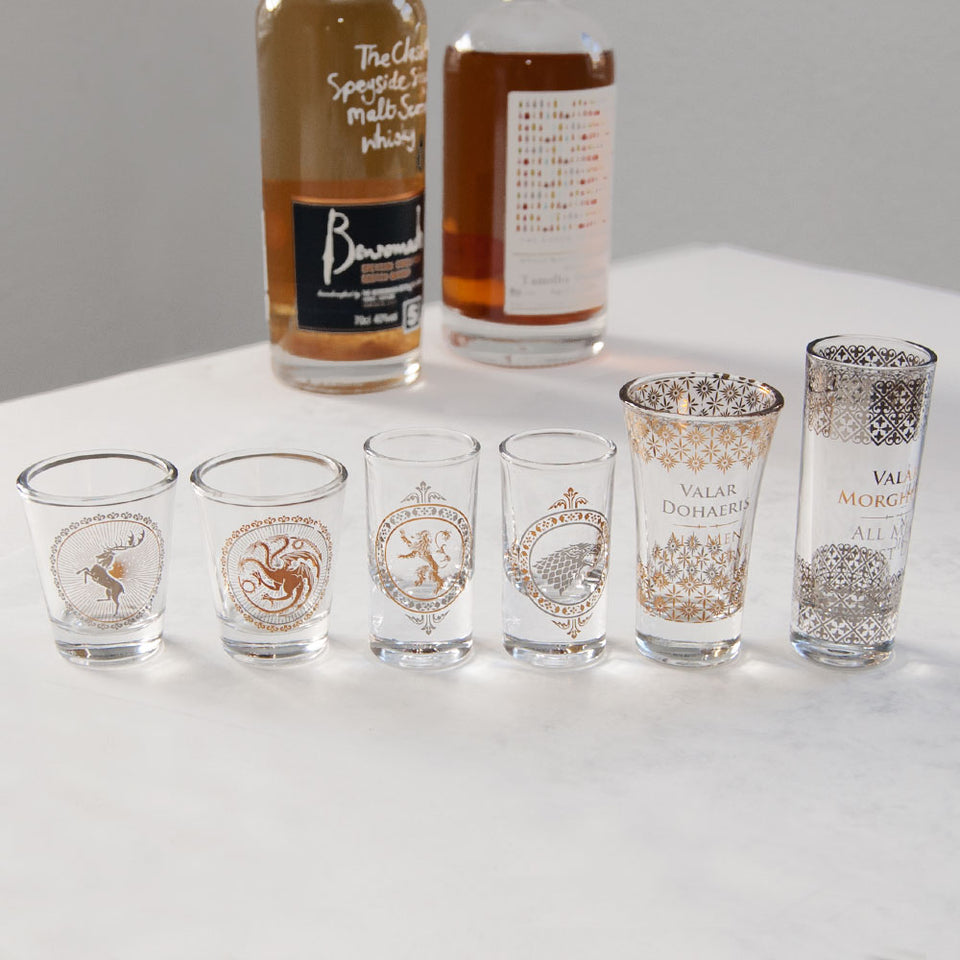 Game of Thrones Premium Glass Set