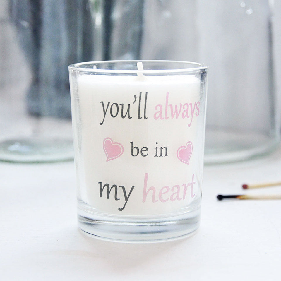 Always in My Heart Votive Candle