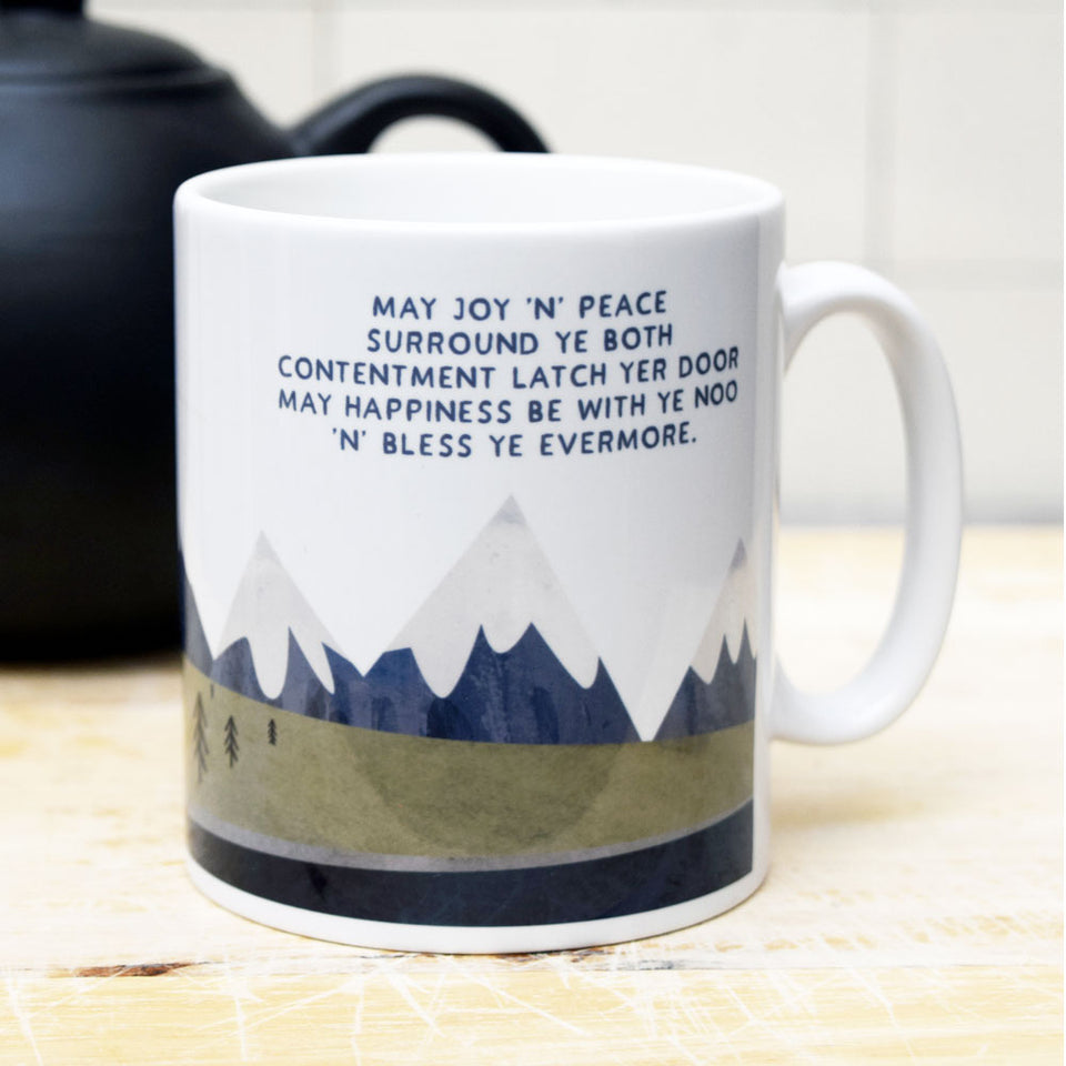 Joy & Peace Ceramic Mug